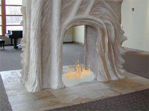 AmazingGlassFlames.com, Romantic Fireplaces, Fireplace Glass - Fireplace Design - Affordable Fireplace Glass, Fireplace Glass Pictures   Fir...
