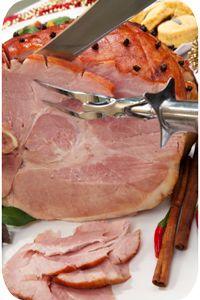 Boiled Gammon - with slow cooker option