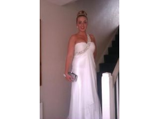 Wedding dress for sale, worn once, £250 ONO! St Thomas Picture 1