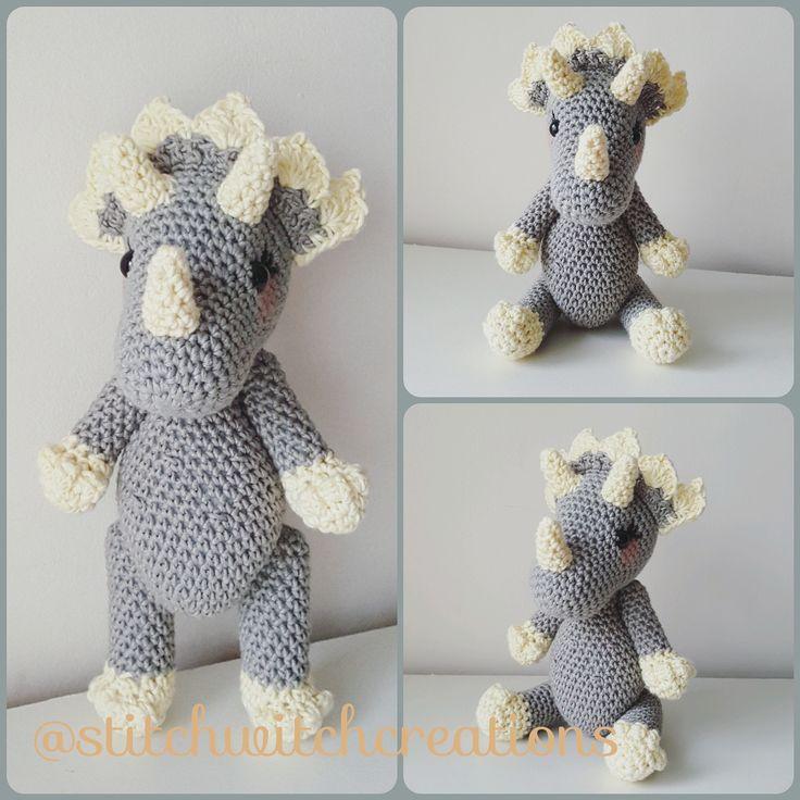 607 best Crochet I Like - Dinosaurs images on Pinterest | Crochet ...