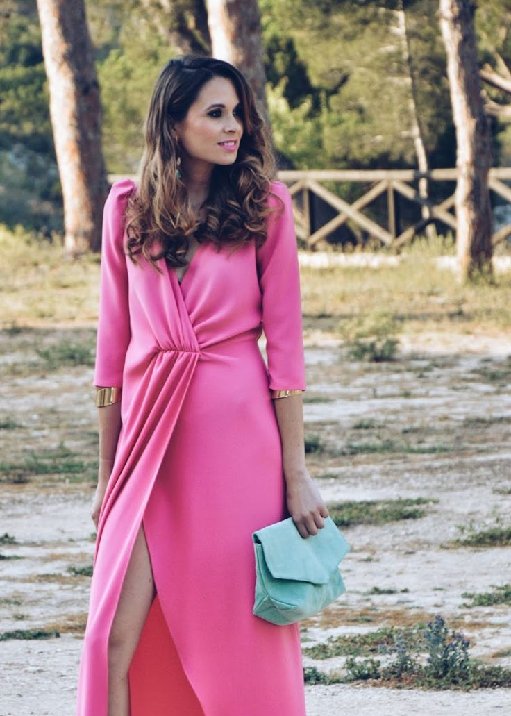 #invitada #invitadaperfecta #perfecta #vestido #rosa #coosy #wedding #look #ootd #weddingdress #weddinglook #lookfortime #dress #vestido #vestidolargo #largo