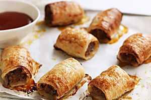 Best-ever homemade sausage rolls