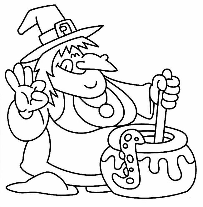 Colouring Pages For Halloween : 264 best halloween colouring pages images on pinterest