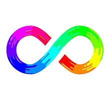 Rainbow Paint Infinity by silverjade