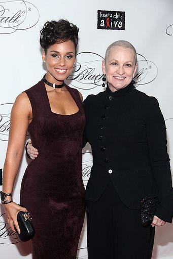 Alicia Keys & Mom - Keep A Child Alive's Black Ball Redux 2012