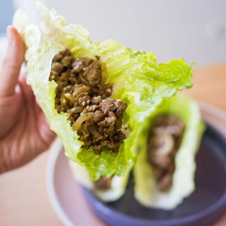 Keto Asian Ground Beef Lettuce Wraps Recipe Recipe Lettuce Wrap Recipes Beef Lettuce Wraps Lettuce Wraps