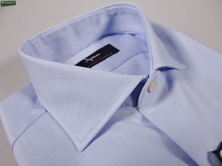 Cotton oxford shirt slim fit cottonstir  Exclusive Patented Inimitable  Eco product compatible  100% cotton stretches by itself