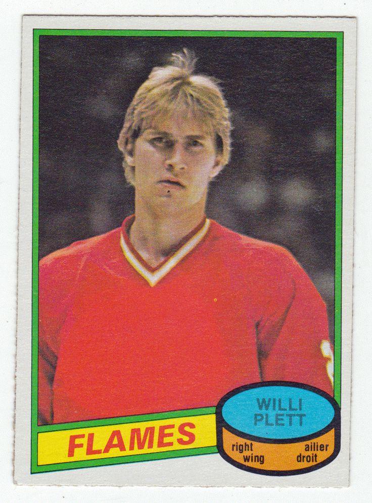 Willi Plett # 320 - 1980-81 O-Pee-Chee Hockey