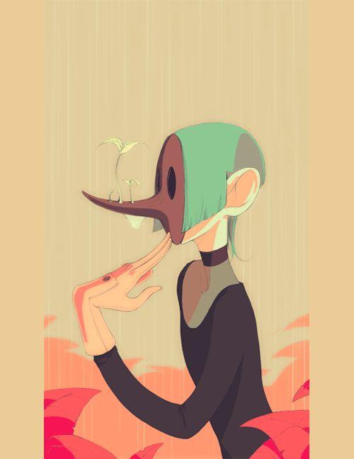 gif Illustration art animated illustration