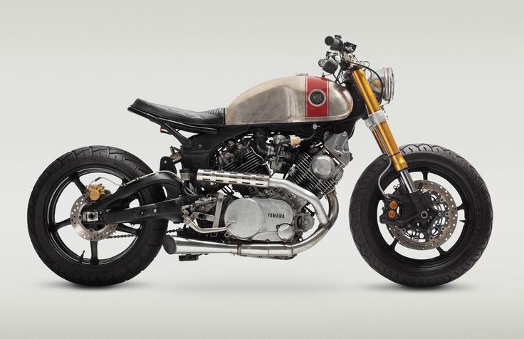 Bob Ranew's one-of-a-kind Yamaha.