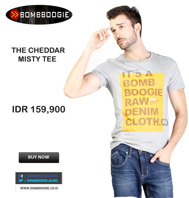 Its Raw Its Bombboogie Tee Shirt Bro IDR 159,900 >> http://ow.ly/vuDrK