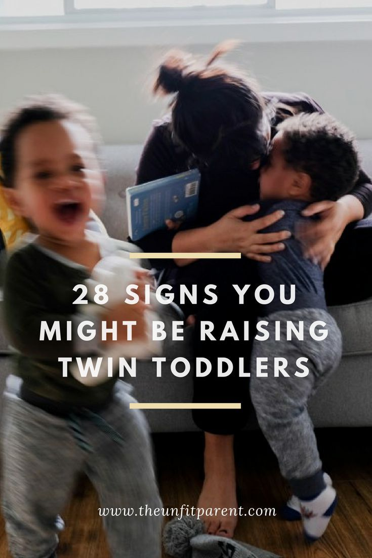 Signs you might be raising twin toddlers, like you can't go a day without stepping on tiny toys - in every room of the house! #twinparenting #parenting #raisingtoddlers #toddler