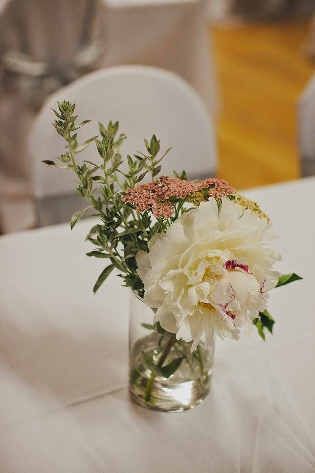 Table flowers. En Vogue Photography