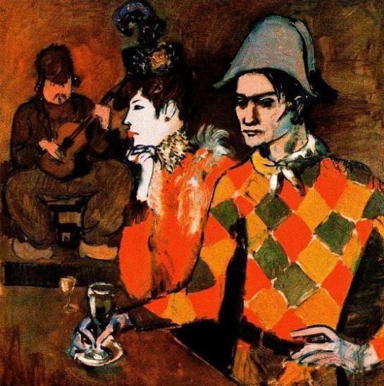 277 best A R T ~ Pierrot, Harlequins & Clowns images on Pinterest ...