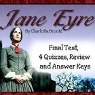 Jane Eyre Test, Quizzes, Review, and Answer Keys    By Charlotte Bronte. British Literature.   Includes PDF File-  4 Quizzes and Answer Keys  Review and...