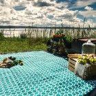 Extra large picnic rug