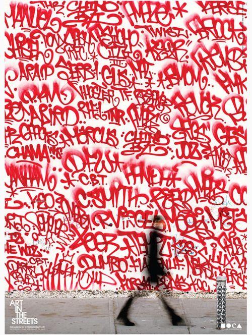 Red #streetart #tag