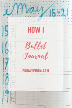 how I Bullet Journal