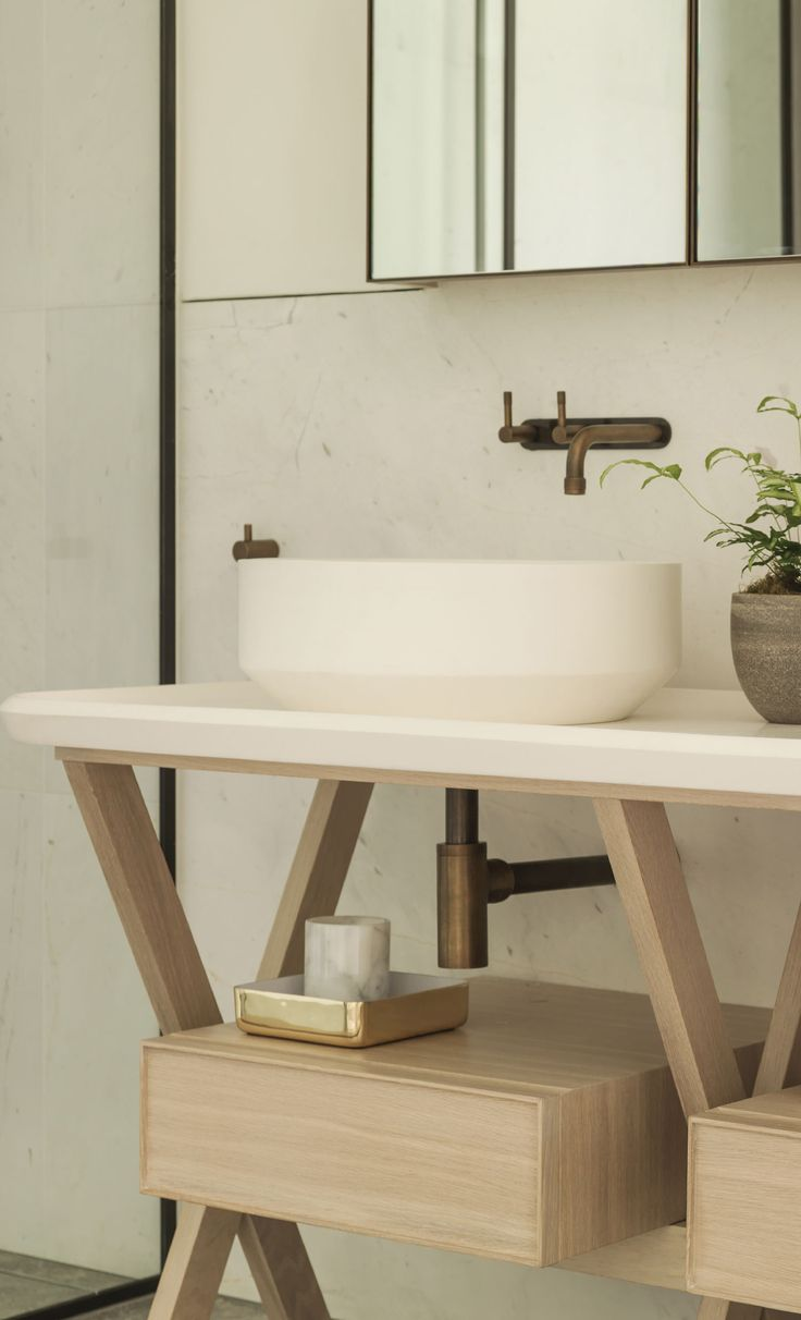 Elwood House Melbourne By Woods Bagot Hecker Guthrie Bathrooms Wall Mounted Taps And