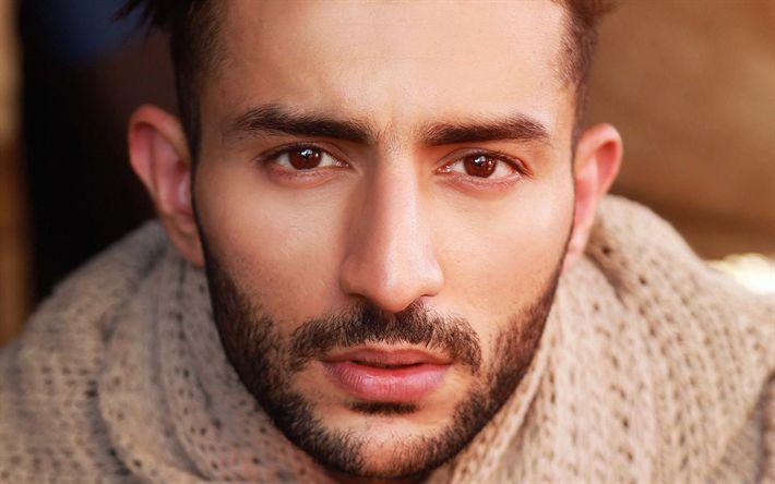 Lataa kuva Shashvat Seth, Bollywood, 4k, julkkis, intialainen näyttelijä, kaverit