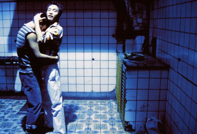 UNPUBLISHED BEHIND-THE-SCENES IMAGES FROM THE SET OF 'HAPPY TOGETHER' BY WONG KAR WAI, STARRING LESLIE CHEUNG & TONY LEUNG, PHOTOGRAPHED BY WING SHYA, FEATURED IN SOME/THINGS MAGAZINE CHAPTER004