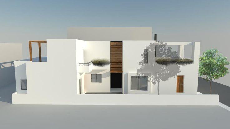 Addition onto an existing house | Nea Filadelfeia - Attica