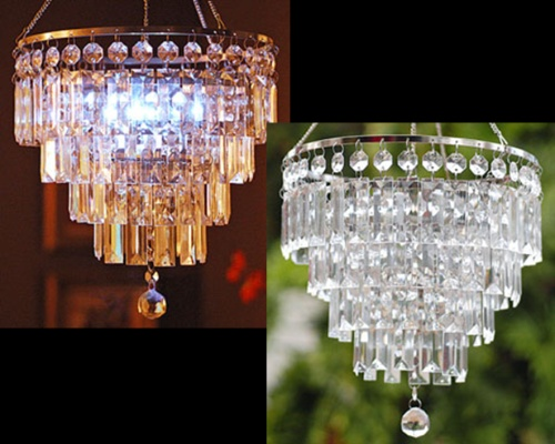Home Depot Crystal Chandelier: Battery Powered Chandelier
