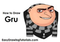 How to Draw Gru (Despicable Me)