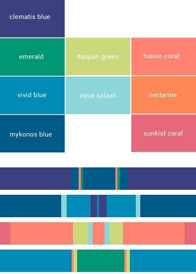 19 best color palettes images on pinterest color combinations
