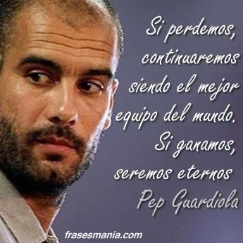 Coach of FC Barcelona/Técnico del FC Barcelona