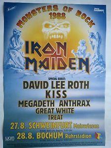 Monsters of rock concert posters | MONSTERS-OF-ROCK-1988-BOCHUM-SCHWEINFURT-orig-Concert-Poster-84-x-60 ...