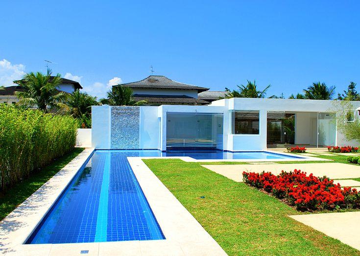 25 melhores ideias de piscinas de raia no pinterest for Medidas piscina casa