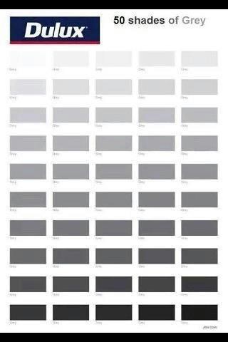 50 Shades Of Grey Mona St Paint Pinterest Shades Of