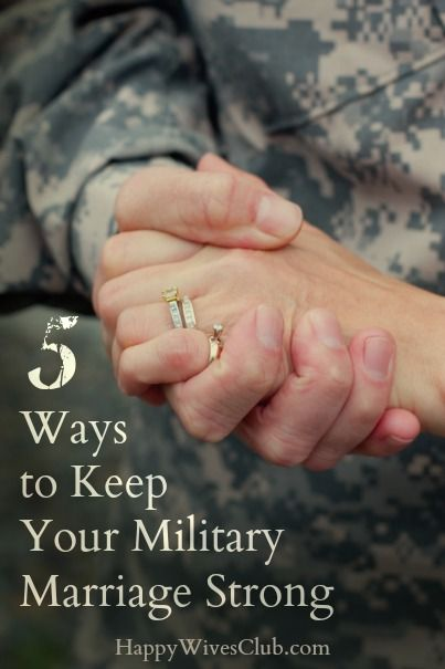 5 Ways to Keep Your Military Marriage Strong
