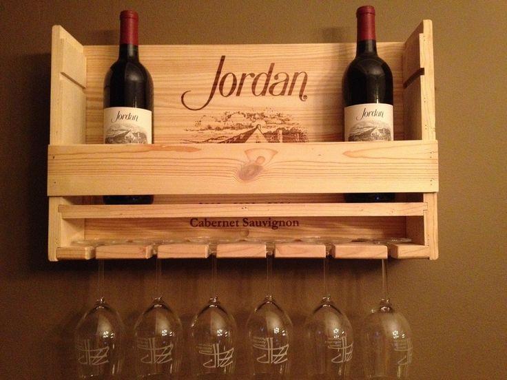 1000 ideas about diy wine racks on pinterest wine racks for Wine bottle shelf diy