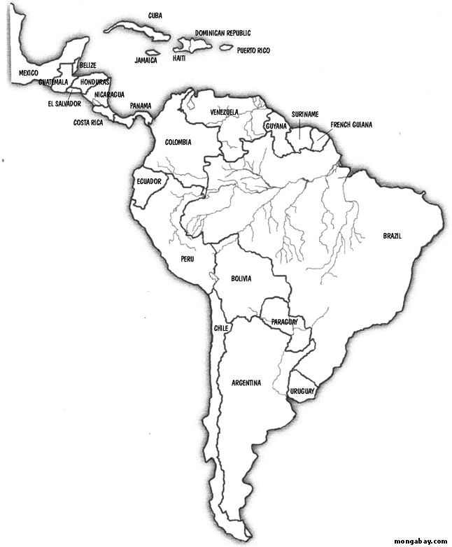 South America Map  Best İdeas Similiar Labeled