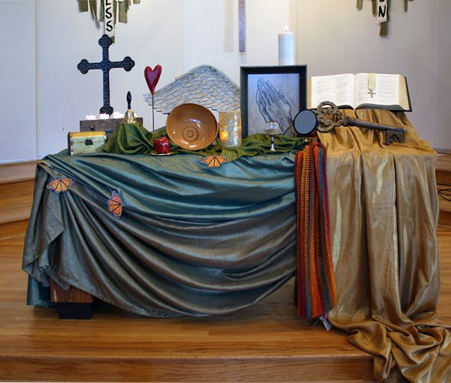 The Living Tableau-  Discernment,    Ashford United Methodist Church, Houston
