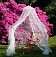 Resultado de imagen de mosquitera  cama forma de cerrar
