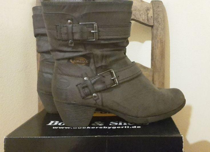 Stiefelette, Boots, Bikerboots, braun, gefüttert, 40, wie neu! NP 59,95 | Kleidung & Accessoires, Damenschuhe, Stiefel & Stiefeletten | eBay!