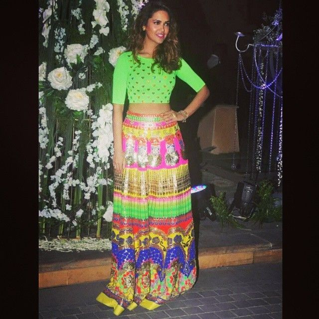 Okay I Am In 😍 With This Contemporary @manisharorafashion Lehenga Worn By Esha Gupta. This Is On My Wish List! Who Agrees? #ManishArora #EshaGupta #BollywoodFashion #IndianFashion #FBlogger #AsianFashion #Lehenga #Fashion #OOTD #InstaFashion #Bollywood #FashionBlogger #Blogger #InstaFashion #POTD #InstaDaily #InstaHub #FOTD #InstaLike