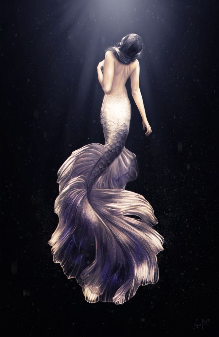 ArtStation - Mermaid, Nazar Noschenko