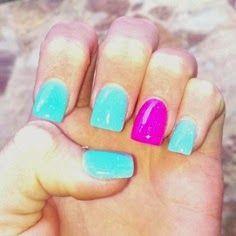 summer acrylic nails, acrylic nail designs, acrylic nails designs pinterest