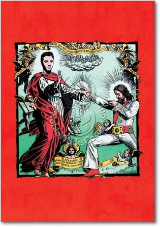 Jesus Elvis Card Miscellany Pinterest Funny