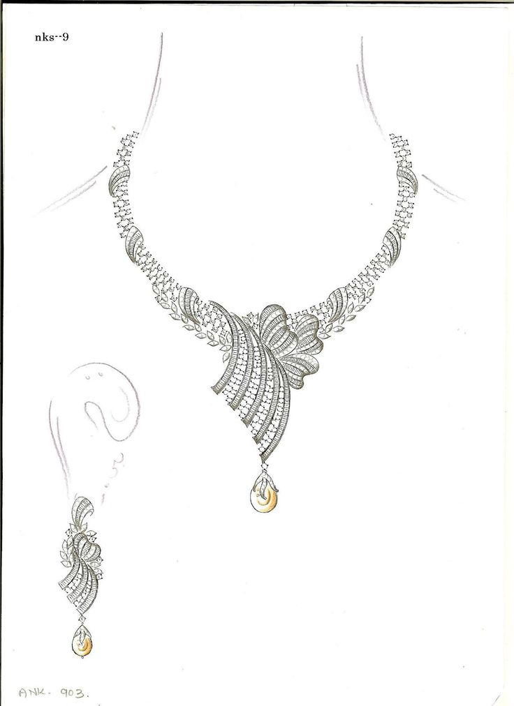 4381 best all abt jewelry sketches images on Pinterest