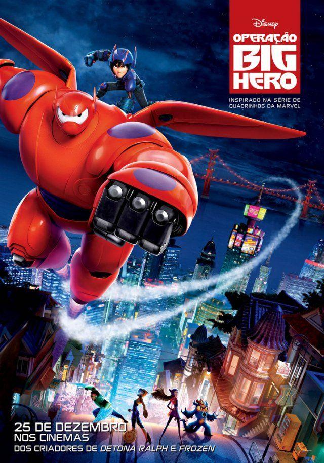 Assistir online Filme Operação Big Hero - Dublado - Online | Galera Filmes