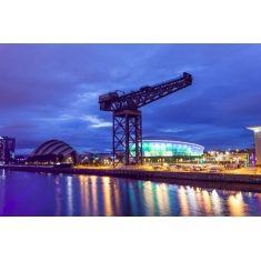 SSE Hydro Arena und Armadillo Gebäude, Glasgow, Schottland, Fototapete Merian, Fotograf: W. Schmitz