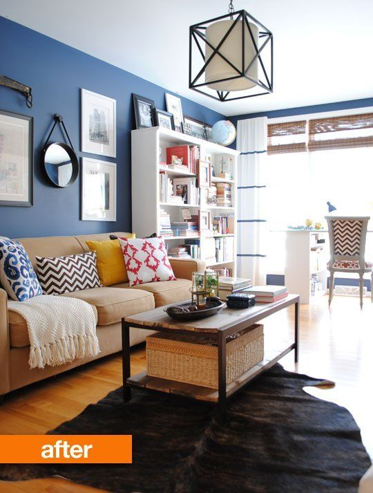 Before & After: Jenna's Living Room Makeover