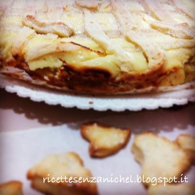 Ricette senza Nichel: TORTA ALLA RICOTTA senza nichel   nichel free recipe   chees cake   italian food