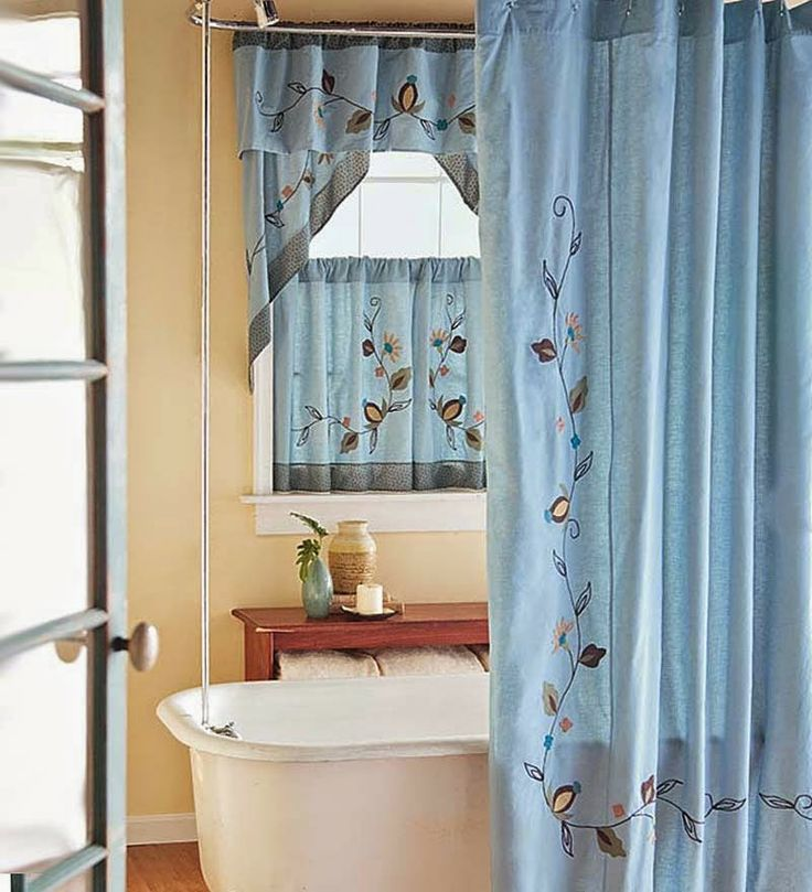 49 Best Bathroom Curtains Images On Pinterest Bathroom