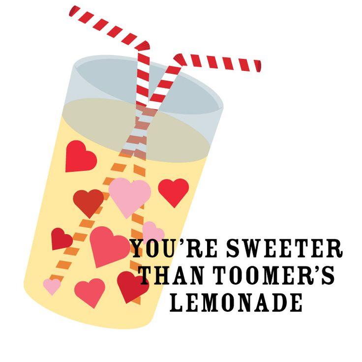 You're sweeter than Toomer's lemonade! #AuburnValentines